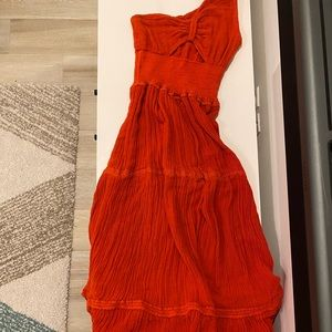 Free People Iberian Maxi Dress